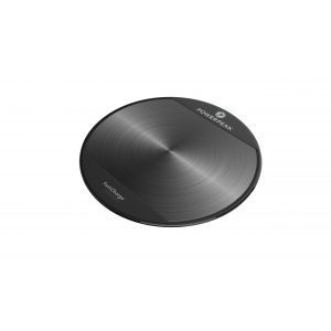 PowerPeak Adaptive Fast Charge Wireless Charging Pad Kit  - includes Fast Charge adapter - for Qi Compatible Devices (1.4X Faster)