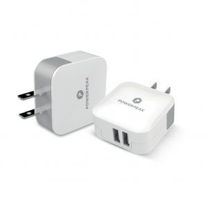 PowerPeak Dual Port Rapid Wall Charger (Cube)