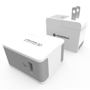 PowerPeak International Adaptive Fast Charge With Adapter And 6ft MicroUSB Cable (75% Faster)