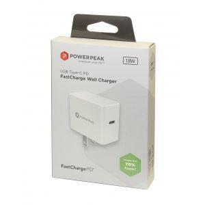 PowerPeak PD Wall charger 18W