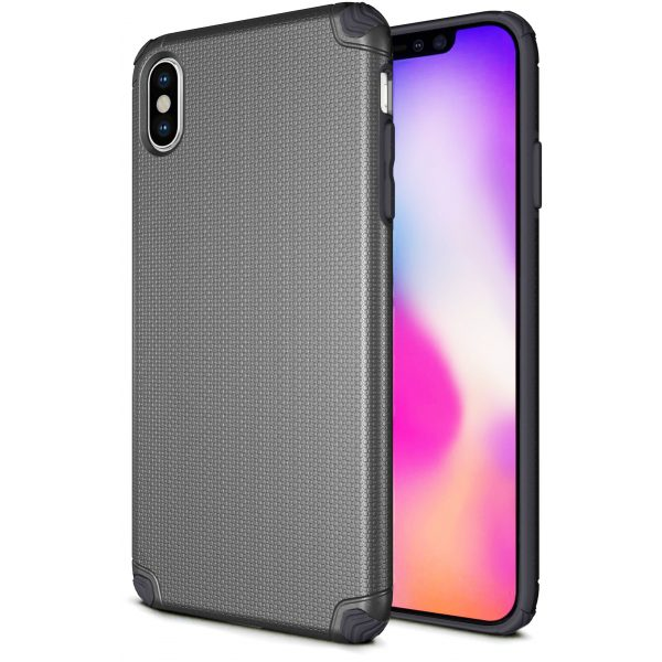 Base ProTech - Rugged Armor Protective Case for iPhone X Max - Grey