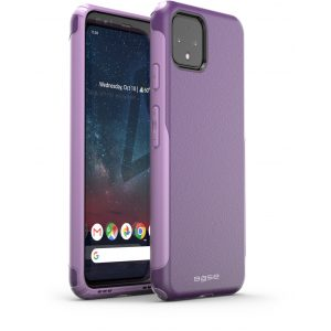 Base Google Pixel 4 XL ProTech - Rugged Armor Protective Case - Purple