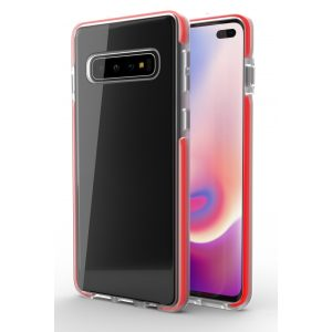 Base BorderLine - Dual Border Impact Protection For Samsung Galaxy S10 - Red