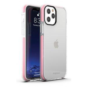 Base iPhone 12 / iPhone 12 Pro (6.1) - BORDERLINE Dual Border Impact protection - Pink