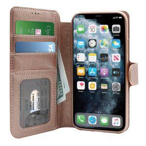 Base Folio Exec Wallet Case iPhone 12 Pro Max (6.7) - Rose Gold