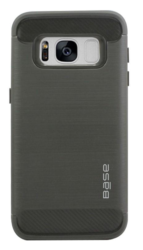Base ProSlim - Sleek Brushed Protective Case for Samsung Galaxy S8 Plus - Grey