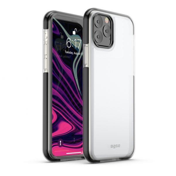 Base  IPhone 11 PRO Max (6.5) - BORDERLINE Dual Border Impact protection - Black