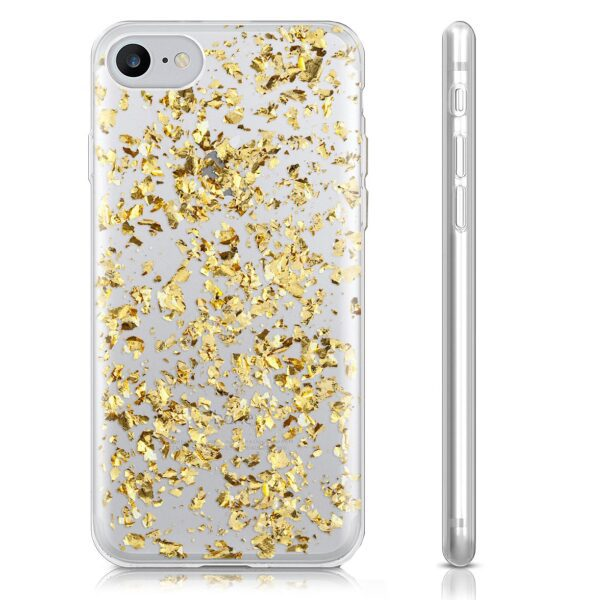 Base Glimmering Protective Case for iPhone 7 / 8 - Gold