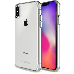 Base B-Air Crystal Clear Slim Protective Case For iPhone X Plus