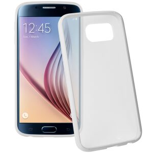 Base Samsung Galaxy S6 Ultra Slim Bumper Back - White