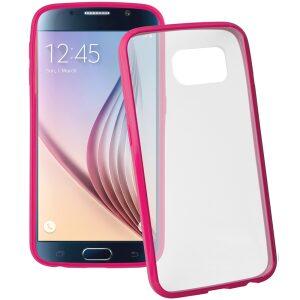 Base Samsung Galaxy S6 Ultra Slim Bumper Back - Pink