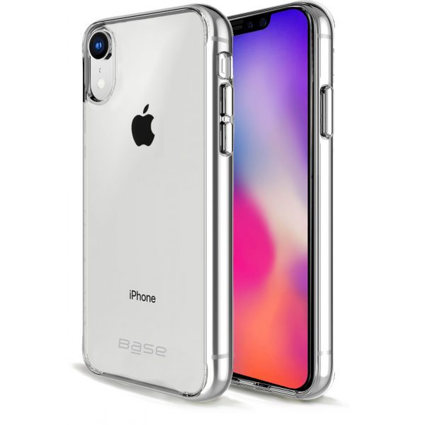 Base b-Air Crystal Clear Slim Protective Case for iPhone XR