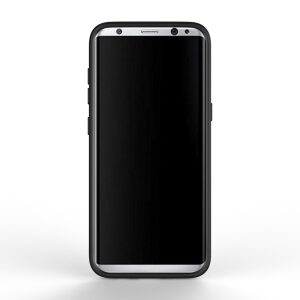Base DuraFit Stowaway - Dual Layer Protective Credit Card Case for Samsung Galaxy S8 - Black