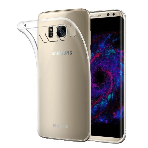 Base b-Air - Crystal Clear Slim Protective Case for Samsung Galaxy S8 Plus
