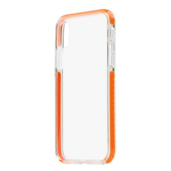 Base BorderLine - Dual Border Impact Protection for iPhone X - Orange