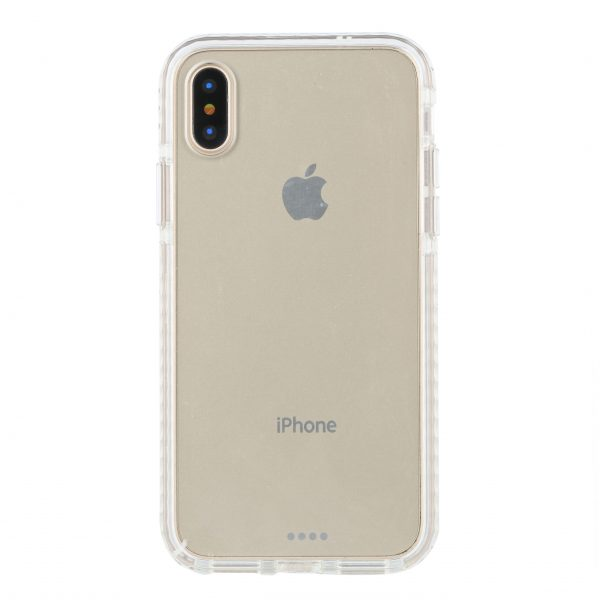 Base BorderLine - Dual Border Impact Protection for iPhone X - White