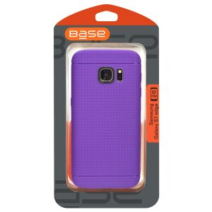 Base Dotted Soft Shell Case Samsung Galaxy S7 Edge - Purple