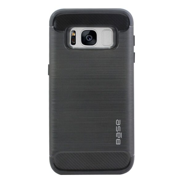 Base ProSlim - Sleek Brushed Protective Case for Samsung Galaxy S8 Plus - Black
