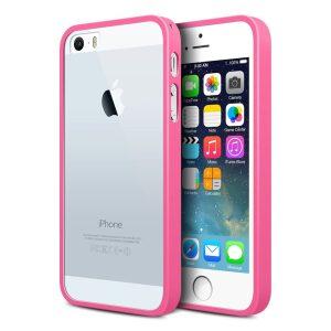 Base Premium Iphone 5 Bumper Back - Pink/clear