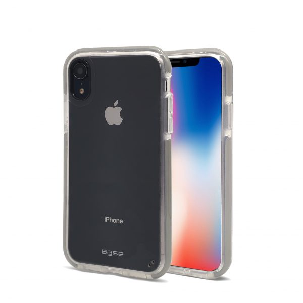 Base BORDERLINE - Dual Border Impact protection For iPhone XR - GREY