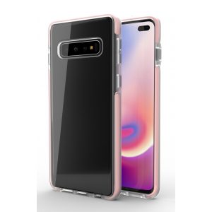 Base BorderLine - Dual Border Impact Protection for Samsung Galaxy S10 Plus -  Pink