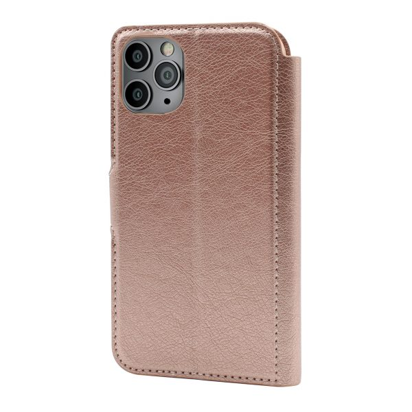 Base Folio Exec Wallet Case iPhone 12 Mini (5.4) - Rose Gold
