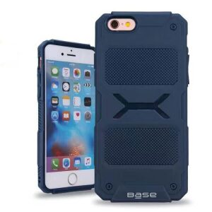 Base ProTech - Rugged Armor Protective Case for iPhone 6 Plus - Blue - BULK NO PACKAGING!