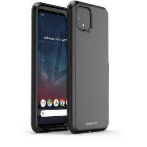 Base Google Pixel 4 XL ProTech - Rugged Armor Protective Case - Black