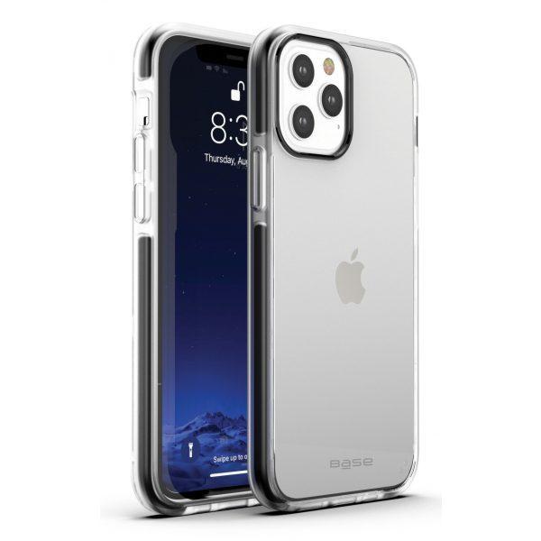 Base iPhone 12 / iPhone 12 Pro (6.1) - BORDERLINE Dual Border Impact protection - Black
