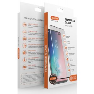 Base Tempered Glass Screen Protector for Galaxy S10 Plus  w/ Camera Glass Protector