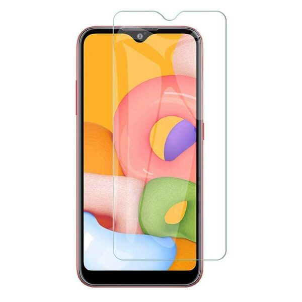 Base Tempered Glass Screen Protector for Galaxy A01