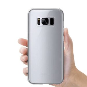 Base b-Air - Crystal Clear Slim Protective Case for Samsung Galaxy S8
