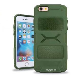 Base ProTech - Rugged Armor Protective Case for iPhone 6 Plus - Green