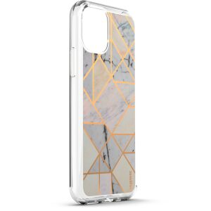 Base  IPhone 11 (6.1)  - Marble Luxury Shockproof Cover Case - White