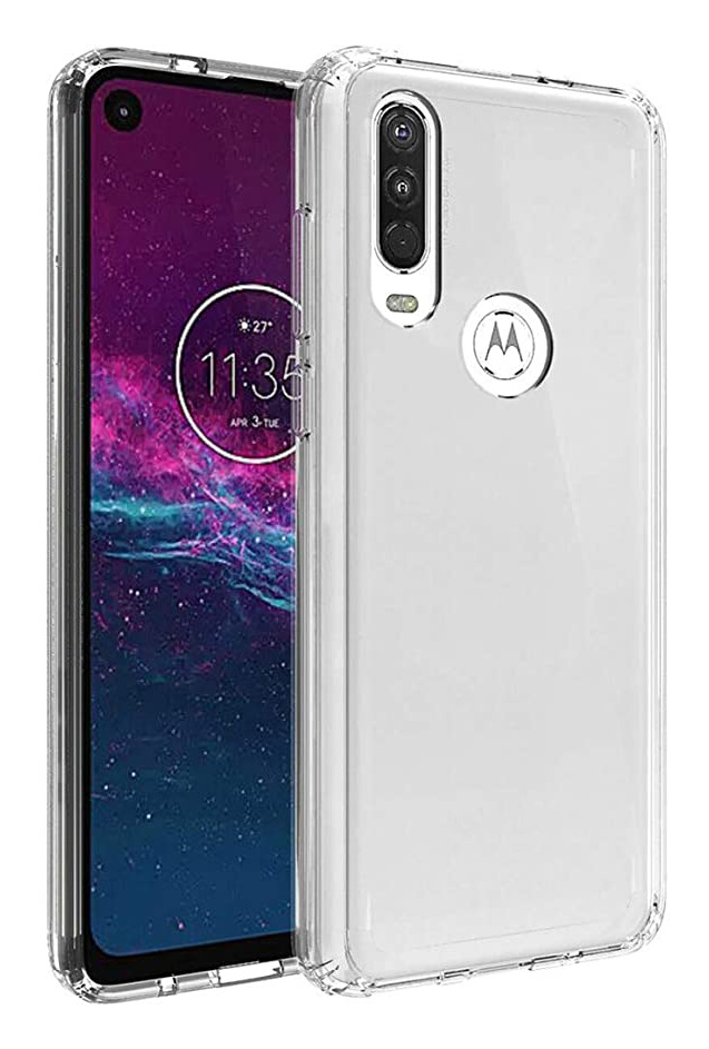 Moto G Power b-Air - Crystal Clear Slim Protective Case