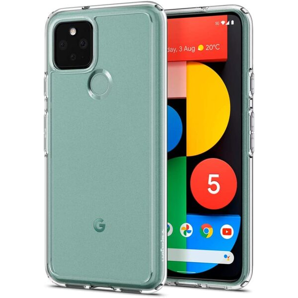 Base Google Pixel 5 - BAir - Crystal Clear Slim Protective Case