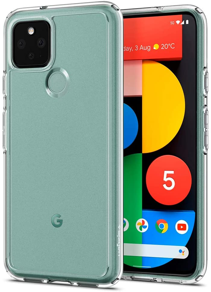 Base Google Pixel 5 - BAir - Crystal Clear Slim Protective Case