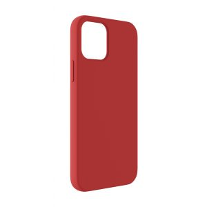 Base Liquid Silicone Gel/Rubber Case iPhone 12 Pro Max (6.7) - Red