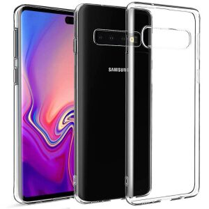 Base b-Air - Crystal Clear Slim Protective Case for Samsung Galaxy S10 Plus