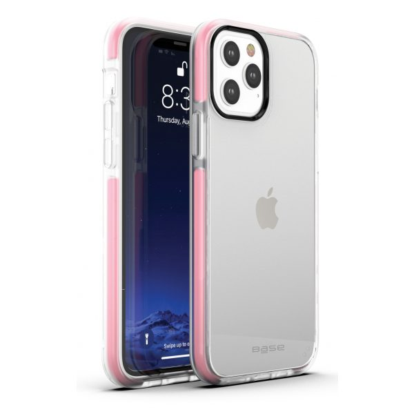 iPhone 12 Pro Max (6.7) - BORDERLINE Dual Border Impact protection - Pink