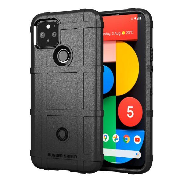 Base Google Pixel 5 - Armor Tech Protective Case - Black