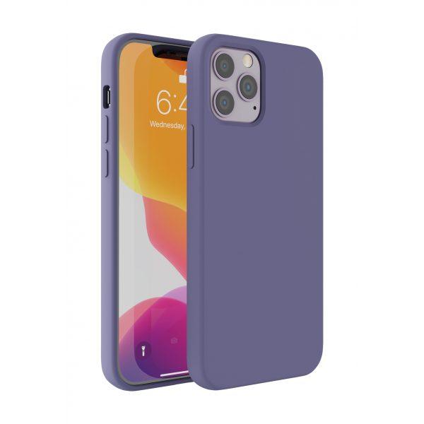 Base Liquid Silicone Gel/Rubber Case iPhone 12 / iPhone 12 Pro (6.1) - Purple