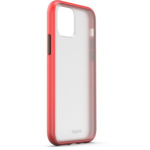 Base  IPhone 11 PRO Max (6.5) -DuoHybrid Reinforced  Protective Case  - Clear/Red