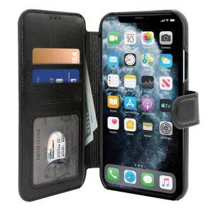 Base Folio Exec Wallet Case iPhone 12 Mini (5.4) - Black