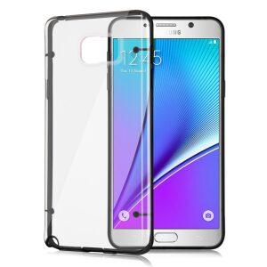 Base Bumper Back Case Samsung Galaxy Note 5 - Smoke