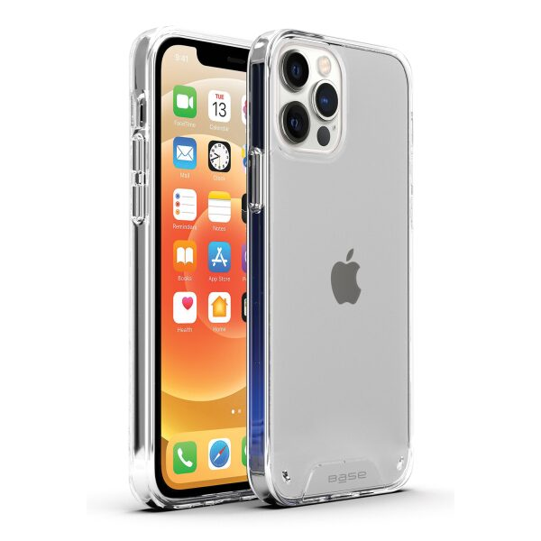 iPhone 12 / iPhone 12 Pro (6.1) - B-Air - Crystal Clear Slim Protective Case