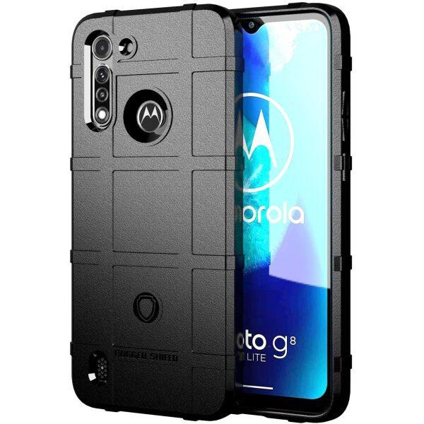 Base Motorola Moto G Power 2020 Armor Tech Case - Black