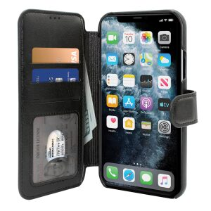 Base Folio Exec Wallet Case iPhone 12 Pro Max (6.7) - Black