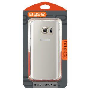 Base High Gloss TPU Case Samsung Galaxy S7 - Clear (OLD VERSION)