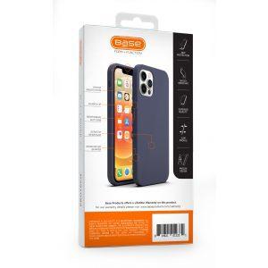 Base Liquid Silicone Gel/Rubber Case iPhone 12 Pro Max (6.7) - Blue